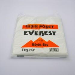 Everest Beyaz Atlet Poşet Büyük Boy (1Kg)