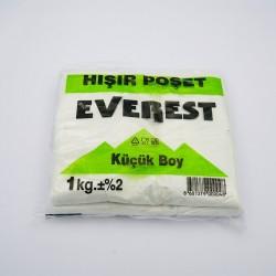 Everest Beyaz Atlet Poşet Küçük Boy (1Kg)